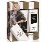 Katy Perry Katy Perrys Indi parfumovaný dezodorant sklo pre ženy 75 ml + sprchový gél 75 ml, darčeková sada