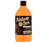 Nature Box Meruňka Vitamínový antioxidant kondicionér oplachový se 100% za studena lisovaným olejem, vhodné pro vegany 385 ml