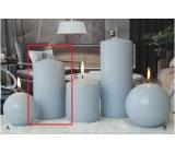 Lima Ice pastel sviečka svetlo modrá valec 80 x 150 mm 1 kus