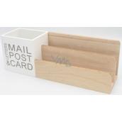 Nekupto Home Decor Dekorácie krabička Mail Post 29 x 10 x 8 cm