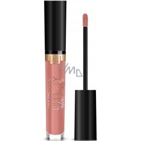 Max Factor Nailfinity Velvet Matte Lipstick tekutá matná rúž 015 Nude Silk 4 ml