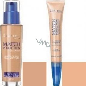 Rimmel London Match Perfection make-up 200 30 ml + korektor 030 7 ml