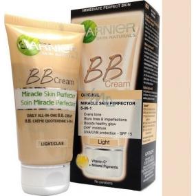 Garnier Skin Naturals Miracle Skin Perfector 5v1 BB cream veľmi svetlá pleť 50 ml