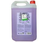 Riva Rozmarýn a Fialky antibakteriální jemné tekuté mýdlo 5 kg