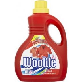 Woolite Extra Color tekutý prací prostriedok na farebné oblečenie 1,5 l