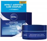 Nivea 24h Moisture + Regeneration zvláčňujúci regeneračný nočný krém pre normálnu až zmiešanú pleť 50 ml