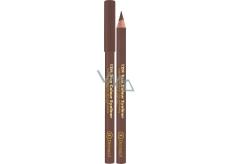 Dermacol 12H True Colour Eyeliner dřevěná tužka na oči 04 Light brown 2 g