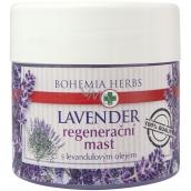 Bohemia Gifts Lavender regeneračná masť s levanduľovým olejom 120 ml