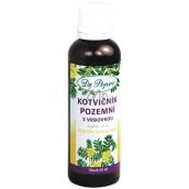 Dr. Popov Kotvičník pozemné s Vrbovka originálne bylinné kvapky pre normálnu hormonálnu aktivitu, funkciu močového a reprodukčného systému a prostaty 50 ml