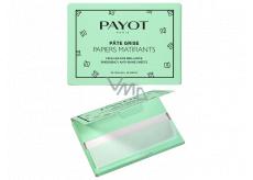 Payot Pate Gris papiers Matifiants SOS brillance zmatňujúci papieriky, pohltí prebytočný maz a okamžite zmatní pleť 50 kusov
