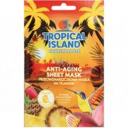 Marion Tropický ostrov Hawaii Paradise textilné pleťová maska proti vráskam 1 kus