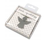 Nekupto Darčeková kľúčenka pre šťastie Babička..můj anjel strážny 4 cm