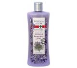 Bohemia Herbs Lavender regenerační krémová koupelová pěna 500 ml