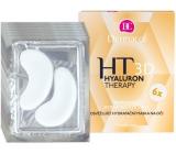 Dermacol Hyaluron Therapy 3D osviežujúci hydratačná maska na oči 6 x 6 g