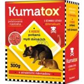 Kumatox G granulovaná nástraha k hubení myší domácích 300 g