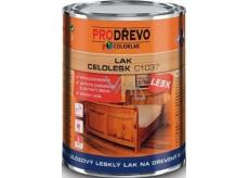 Colorlak Celolesk C1037 nitrocelulózový lesklý lak na drevený nábytok 0,75 ml