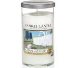 Yankee Candle Clean Cotton - Čistá bavlna vonná svíčka Décor střední 340 g