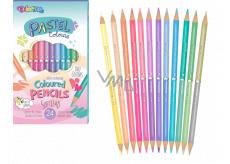 Colorino Pastelky pastel obojstranné 12 kusov / 24barev