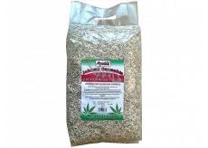 Apetit Johnny Cannabis podstielka z konopného pazderia pre alergická zvieratka ekologická bezprašná podstielka. 100% prírodný produkt 10 l