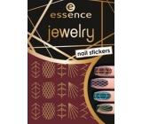 Essence Nail Art Jewelry nálepky na nehty 09 1 aršík