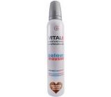 Vitale Exclusively Professional farbiace penové tužidlo s vitamínom E Dark Brown - Tmavo hnedá 200 ml