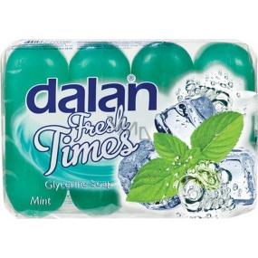 Dalan Fresh Time Mint glycerinové tuhé toaletní mýdlo 4 x 90 g