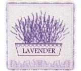 Bohemia Gifts & Cosmetics Lavender kvetináč dekoratívne Kachlík 10 x 10 cm