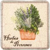 Bohemia Gifts de Provence dekoratívne Kachlík 10 x 10 cm
