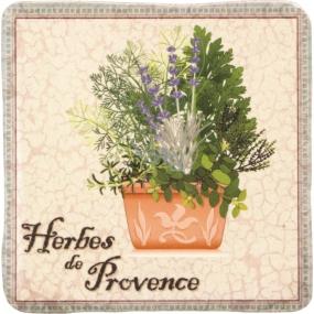 Bohemia Gifts & Cosmetics de Provence dekoratívne Kachlík 10 x 10 cm