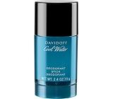Davidoff Cool Water Men deodorant stick pre mužov 70 g