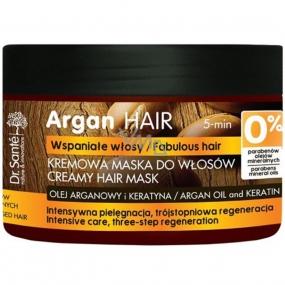 Dr. Santé Arganový olej a keratín krémová maska na poškodené vlasy 300 ml