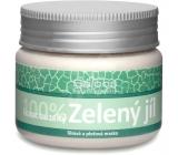 Saloos 100% Zelený jíl francouzský pleťová maska absorbuje toxické látky, zbavuje ji nečistot, nežádoucí mastnoty, 80 g