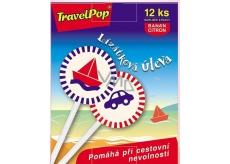 VitaHarmony TravelPop lízátkový úľava pri cestovnej nevoľnosti doplnok stravy 12 kusov