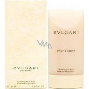 Bvlgari pour Femme sprchový gél 200 ml