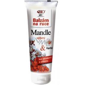 Bione Cosmetics Bio Mandle výživný balzám na ruce 200 ml