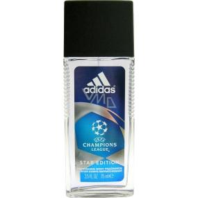 Adidas UEFA Champions League Star Edition parfémovaný deodorant sklo pro muže 75 ml