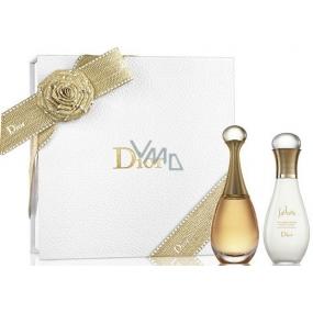 Christian Dior Jadore parfémovaná voda pro ženy 50 ml + tělové mléko 75 ml, dárková sada