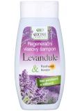 Bion Cosmetics Levanduľa & Panthenol, Keratín regeneračný šampón na vlasy 250 ml