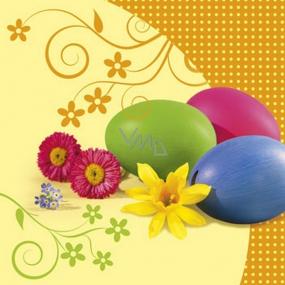 Ditipo Papierové obrúsky 3 vrstvové 33 x 33 cm 20 kusov Veľkonočné 3 vajíčka