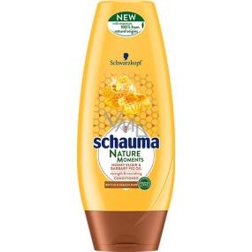 Schauma Nature Moments Medový elixír a olej z opuncie mexickej pre regeneráciu a silu balzam na vlasy 200 ml
