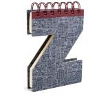 If Alphabooks Note Books Zápisník v tvare písmena Z 91 x 14 x 124 mm