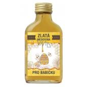 Bohemia Gifts & Cosmetics Zlatá medovina 18 % Pro babičku 100 ml