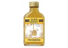 Bohemia Gifts & Cosmetics Zlatá medovina 18% Pre babičku 100 ml