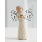Willow Tree - Anjel uzdravenie - Všetkým, ktorí prinášajú útechu a starostlivosť Figúrka anjela Willow Tree, výška 12,5 cm
