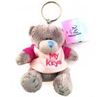 Me to You Klíčenka plyšová Medvídek My Keys 8 cm