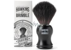 Hawkins & Brimble Štetka na holenie so syntetickými štetinami čierna 10,5 cm
