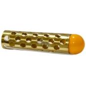 Profiline Natáčky kovové s kuličkou zlaté 18 x 60 mm 1 kus