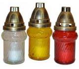 Admit Lampa sklenená 18 cm 50 g LA 19 K rôzne farby