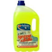 Sgrassa & Brilla Odmasťovač čistič kuchyne odstráni aj mastnotu z motorov 5 l