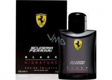 Ferrari Black Signature toaletní voda pro muže 125 ml